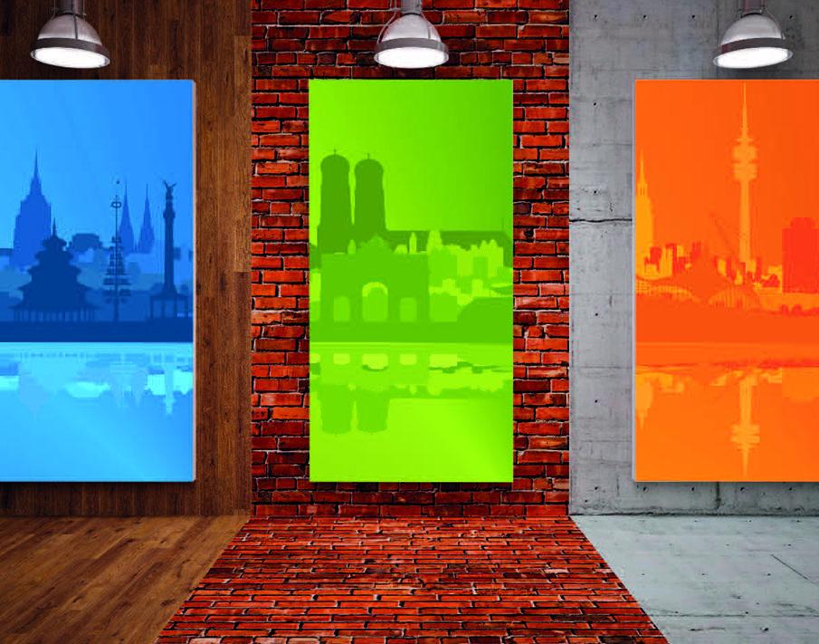 Bilderdruck für Privat- und Geschäftsräume